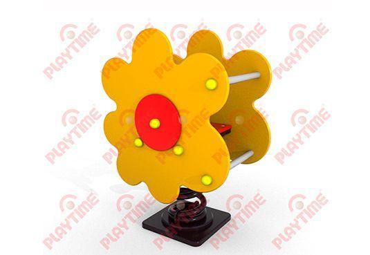 Resorte Doble Contenedor Flor