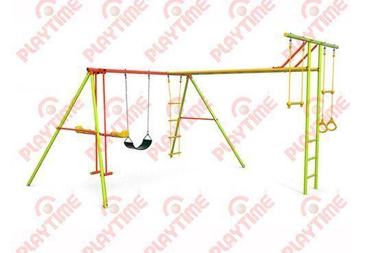 Swing Jinete con Cinchas y Trepador Gym
